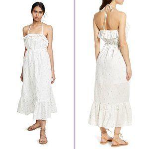 English Factory Floral Cotton Blend Maxi Dress